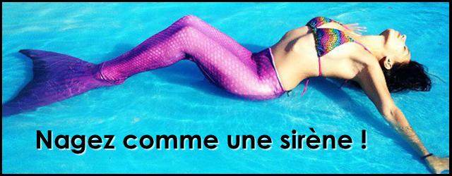 Nager Comme Une Sirène, ça S'apprend!