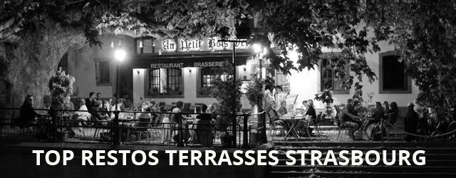 Top 3 Des Restos Avec Terrasse à Strasbourg