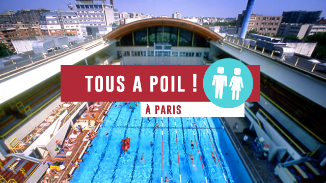 A paris on se baigne poil for Piscine roger le gall