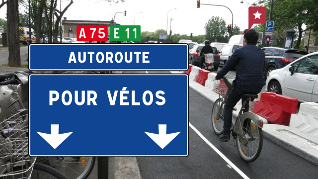Autoroute Pour Vélos à Paris
