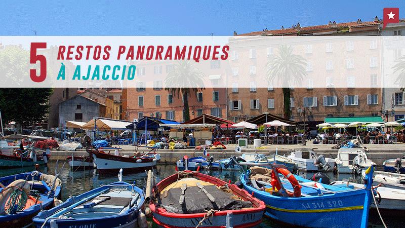 Corse : 5 Restos Panoramiques Sur La Baie D'ajaccio