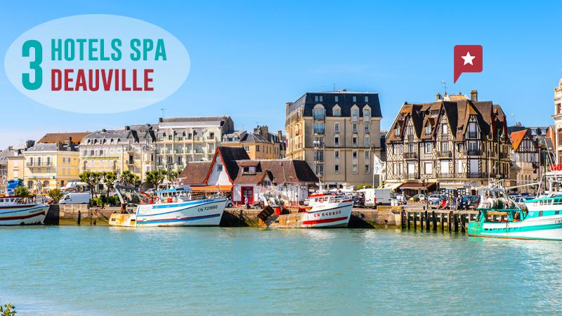 Escale Normande : 3 Hôtels Avec Spa à Deauville