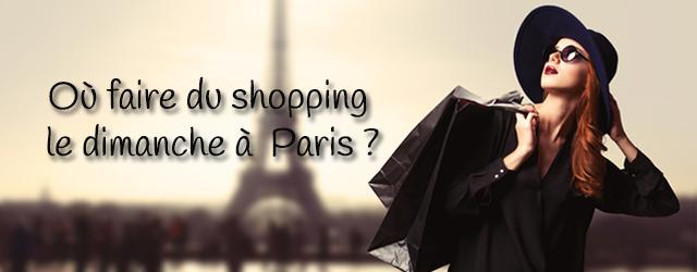 10 lieux pour faire du shopping le dimanche paris. Black Bedroom Furniture Sets. Home Design Ideas