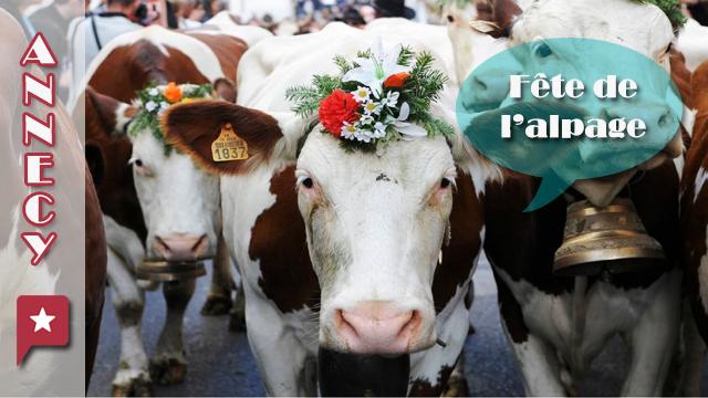 Fête Des Alpages à Annecy Le 8 Octobre