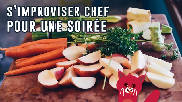 Justacoté A Testé Pour Vous... être Chef Cuisinier Le Temps D'une Soirée !