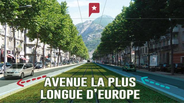 L'avenue La Plus Longue Du Monde Est Française