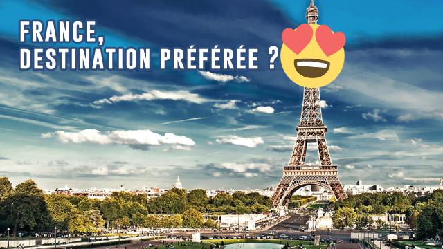 La France Est Le Pays Préféré Des Voyageurs