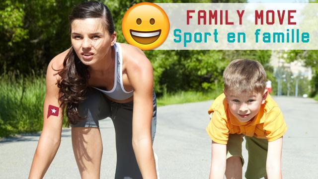 Le Sport En Famille !