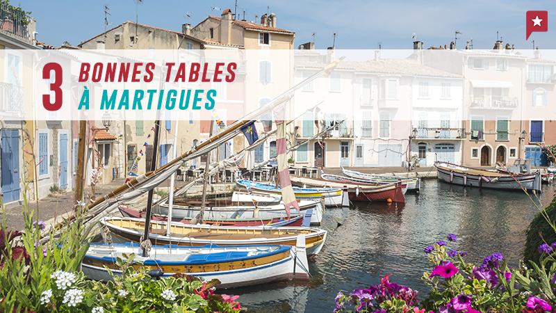 Martigues : 3 Restos Avec Terrasse Au Bord Du Canal
