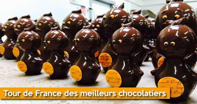 Pâques : Tour De France Des Meilleurs Chocolatiers