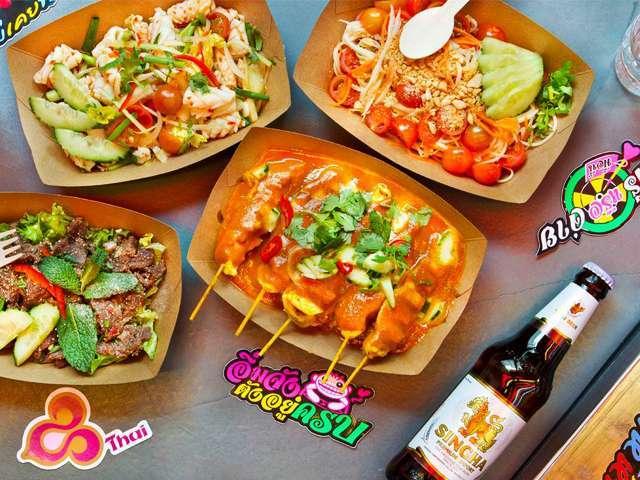 Le best of de la street food paris - Cuisine thailandaise paris ...