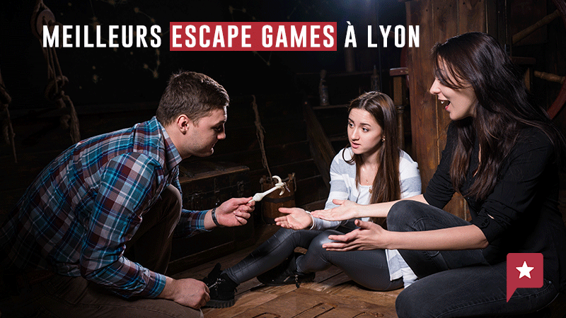 Top 5 Des Escape Games à Lyon