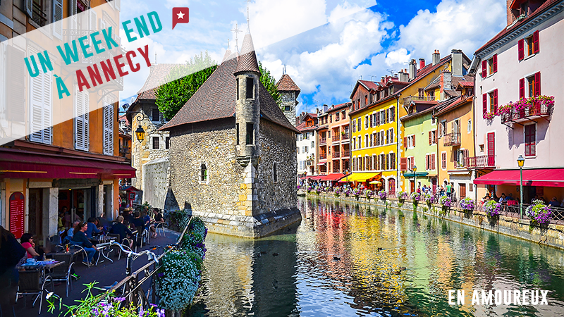 Un Week-end En Amoureux à Annecy