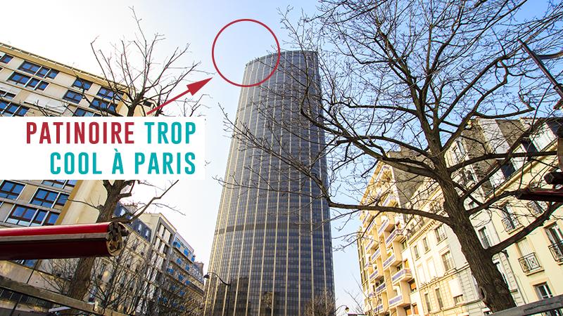 Une Patinoire à Plus De 200 Mètres D'altitude à Paris