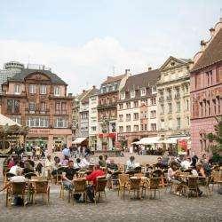 Cafés et restaurants avec belles terrasses à Mulhouse et environs